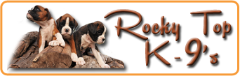 Rocky Top K-9's  Missouri Quality Breeds logo